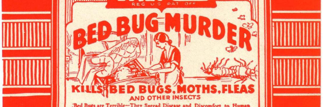 Valmor 'Bed bug murder' label
