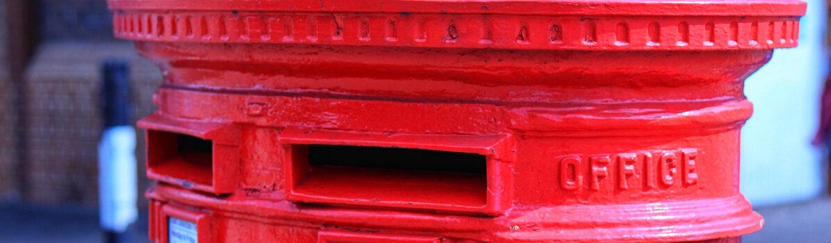 A letter box. Image by Dele Oke