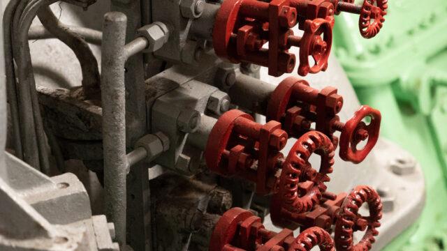 Gas taps - picture by Erik Kroon